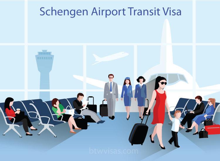 Schengen airport transit