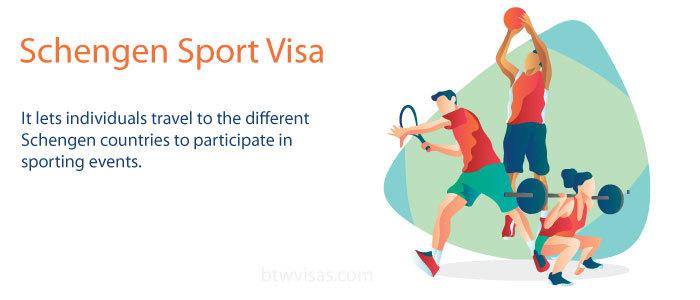 Schengen sports visa