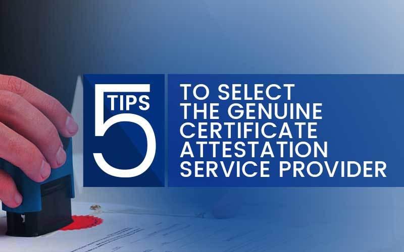 Thumb attestation service provider