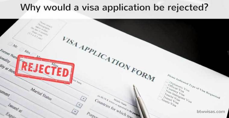 Can A Visa Rejection Affect Your Future Travel Btw