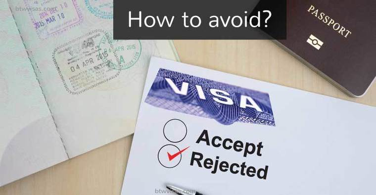 how to avoid visa rejection