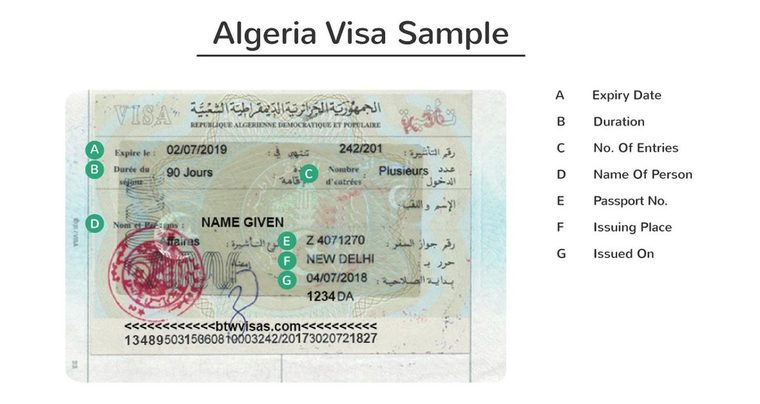 Algeria Business Visa Definitive Guide 2020 Btw