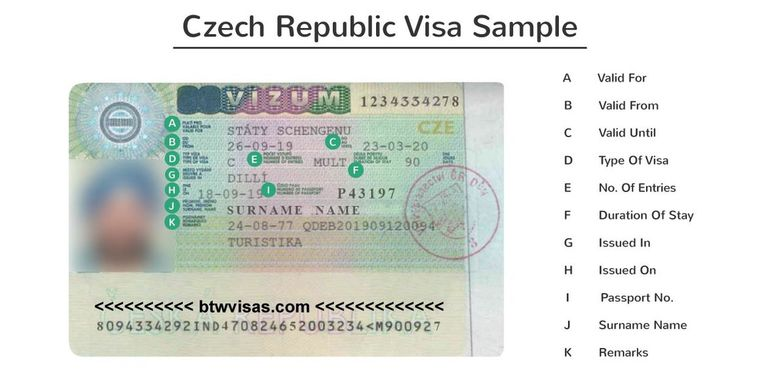 czech republic business visa