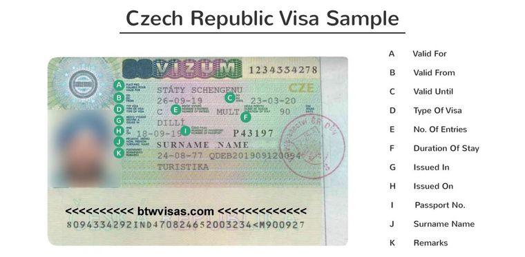 czech republic visit visa