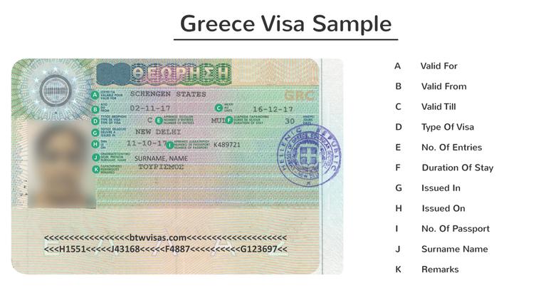 greece business visa