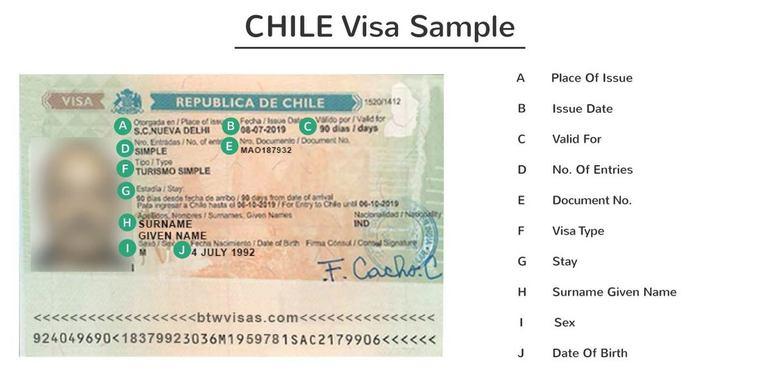 chile student visa