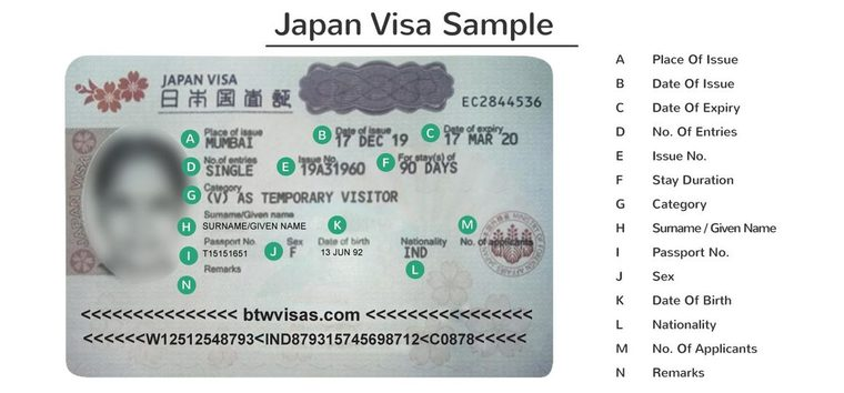 japan work visa