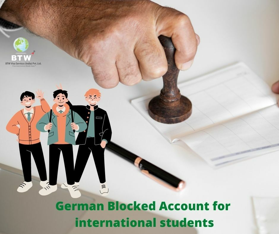 German blocked account for international students