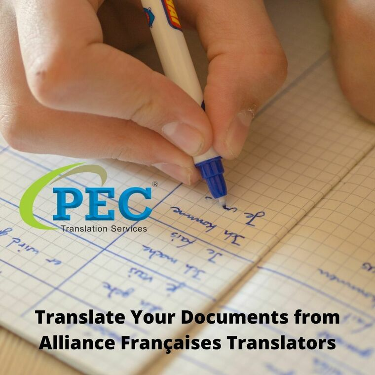 Large translate your documents from alliance fran aises translators