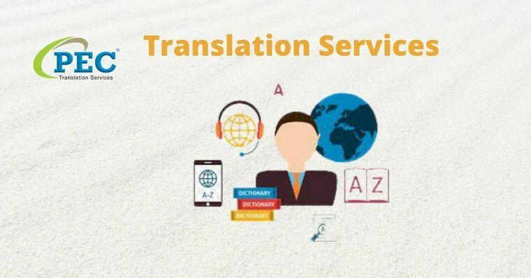 Large translation services