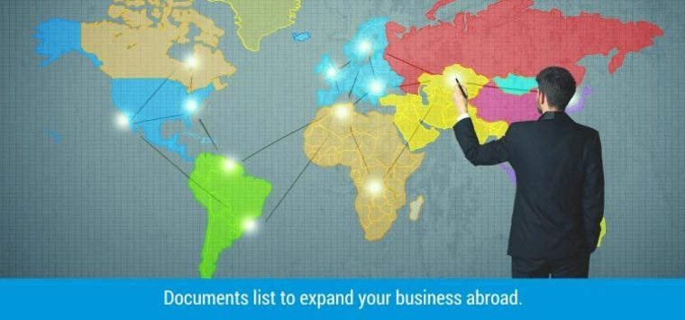 Large documents required to expand your business globally