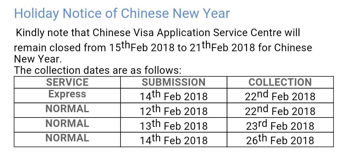 Chinese new year update