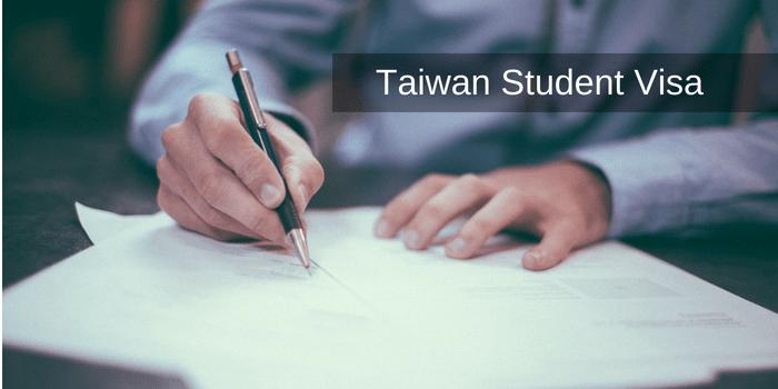 Taiwan student visa