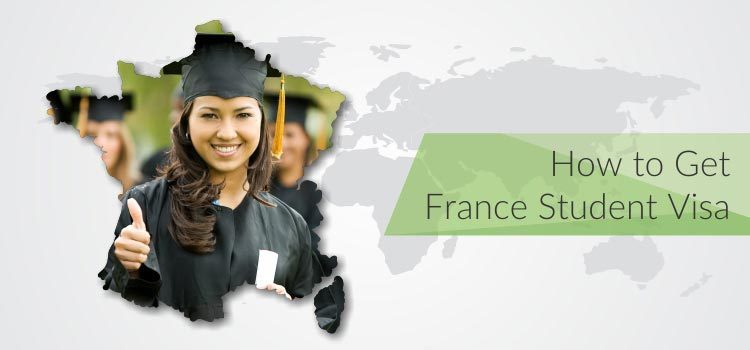 How to get france student visa