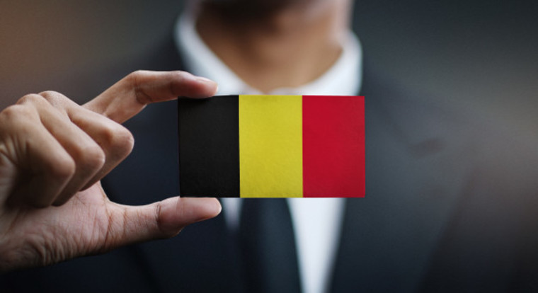 Large belgium business visa