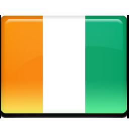 Ivory coast flag 256