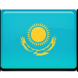 Kazakhstan flag 256