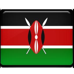 Kenya flag 256