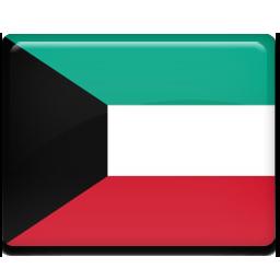 Kuwait flag 256