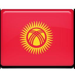 Kyrgyzstan flag 256