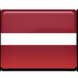Latvia flag 256