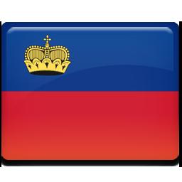 Liechtenstein flag 256