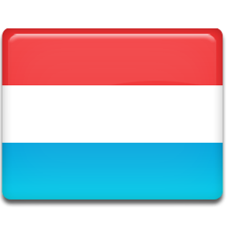 Luxembourg flag 256