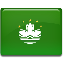 Macau flag 256