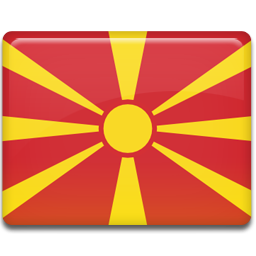 Macedonia flag 256