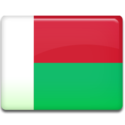 Madagascar flag 256