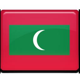 Maldives flag 256