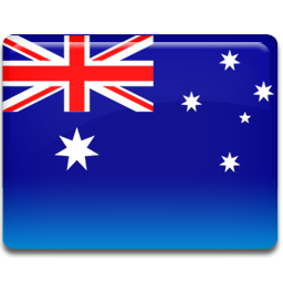Australia flag 256
