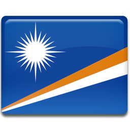 Marshall islands flag 256