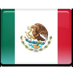 Mexico flag 256