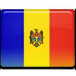 Moldova flag 256