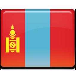 Mongolia flag 256