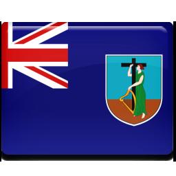 Montserrat flag 256