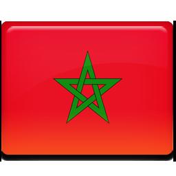 Morocco flag 256