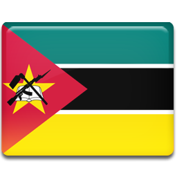 Mozambique flag 256
