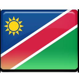 Namibia flag 256