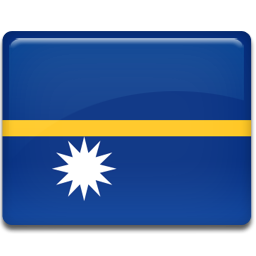 Nauru flag 256