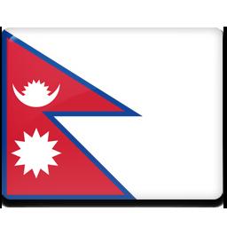 Nepal flag 256