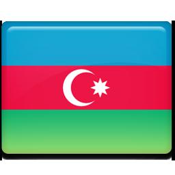 Azerbaijan flag 256