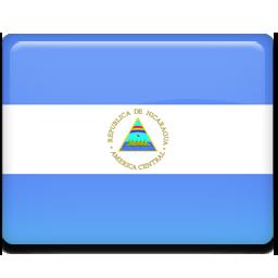 Nicaragua flag 256