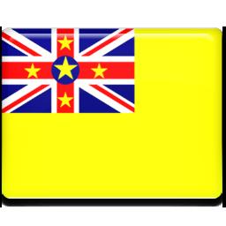 Niue flag 256