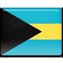 Bahamas flag 256