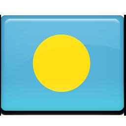 Palau flag 256