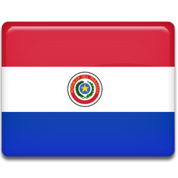 Paraguay flag 256