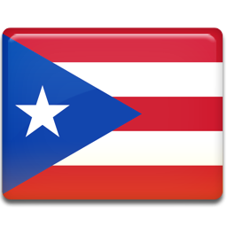 Puerto rico flag 256