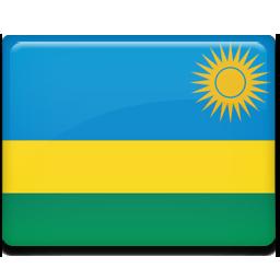 Rwanda flag 256